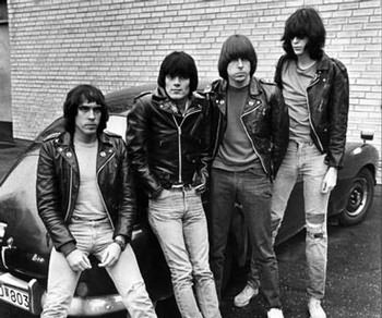 Marky, Dee Dee, Johnny and Joey Ramone: the best actors in the world?